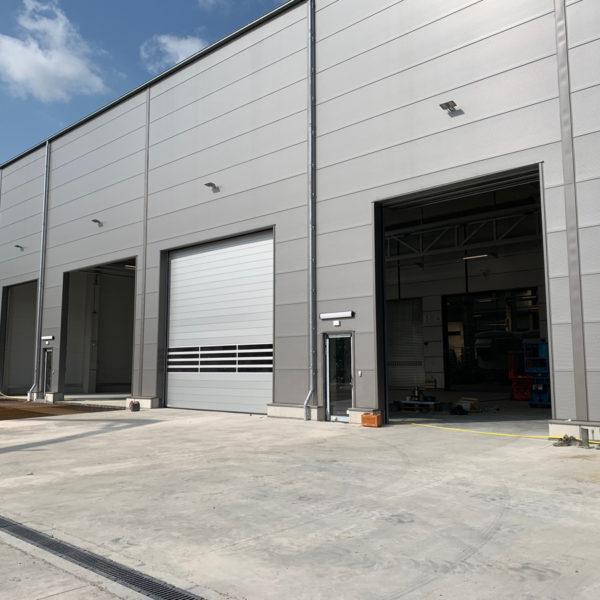 GE Wind will mit Cypress Windenergieanlage Erfolg fortsetzen und produziert in neuer Produktionshalle.